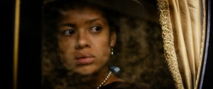 "Gugu Mbatha-Raw as ""Dido Elizabeth Belle"" in BELLE. ©Fox Searchlight."