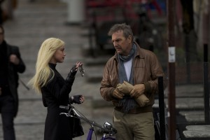 "(Left to right.) AMBER HEARD and KEVIN COSTNER star in Relativity Media's ""3 DAYS TO KILL "". ©3DTK Inc.  CR: Julian Torres"