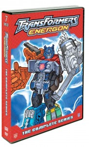 """Transformers Energon: The Complete Series."" ©Shout! Factory."