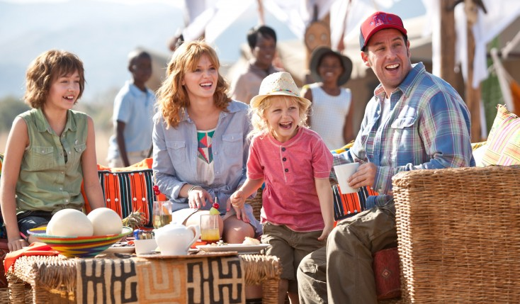 Sandler Reunites with Barrymore for 'Blended'