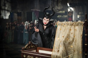"Angelina Joie stars as Maleficent in Disney's ""Maleficent."" ©Disney Enterprises. CR: Frank Connor."