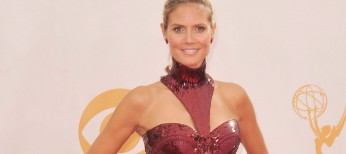Heidi Klum Talks on 'America's Got Talent' – 3 Photos
