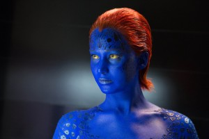 Jennifer Lawrence as Mystique in X-Men: Days of Future Past. ©Marvel/20th Century Fox. CR: Alan Markfield.