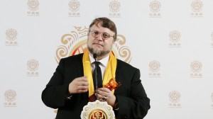 Guillermo Del Toro wins the Best Global Director award during The 12th Huading Awards held at the Ricardo Montalban Theater in Hollywood, CA on Sunday, June 1, 2014. Photo by Peter Gonzaga_Front Row Features Wire.