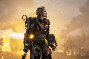 Emily Blunt as Rita in EDGE OF TOMORROW. ©Warner Bros. Entertainment. CR: David James.