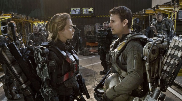 Cruise and Blunt Suit Up for 'Edge of Tomorrow'