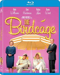 """The Birdcage"" (Blu-ray/DVD art). ©20th Century Home Entertainment."