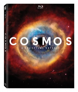 """Cosmos: A Spacetime Odyssey"" (DVD Art) ©20th Century Fox Home Entertainment."