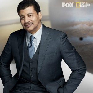 "Dr. Neil de Grasse Tyson hosts ""Cosmos: A Spacetime Odyssey"" (DVD Art) ©20th Century Fox Home Entertainment."