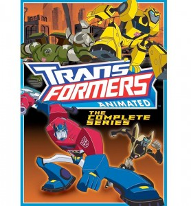 Transformers Animated: The Complete Series (DVD ART). ©Shout!Factory.