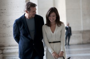 (l-r) Liam Neeson as Michael and Olivia Wilde as Anna in THIRD PERSON. ©SONY PICTURES CLASSICS. CR: Maria Marin.