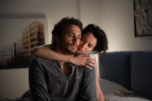 (l-r) James Franco as Rick and Loan Chabanol as Sam THIRD PERSON. ©Sony Pictures Classics. CR: Maria Marin.
