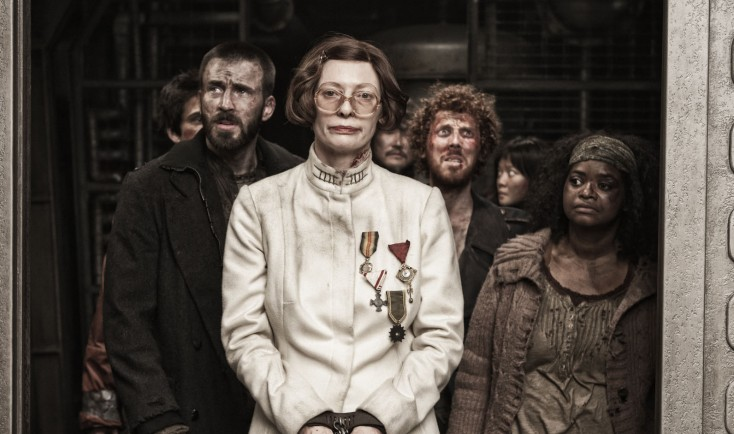 Tilda Swinton is Ice Cold Enforcer in 'Snowpiercer'