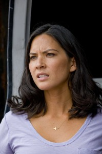 Jen Sarchie (Olivia Munn) in Screen Gems' DELIVER US FROM EVIL. ©Screen Gems. CR: Andrew Schwartz.