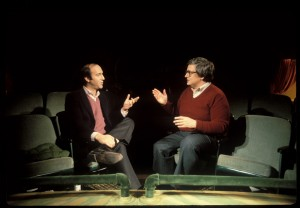Gene Siskel and Roger Ebert in LIFE ITSELF. ©Magnolia Pictures. CR: Kevin Horan.