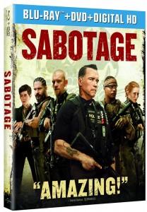 """Sabotage"" (Blu-ray/DVD Art). ©Universal Studios."