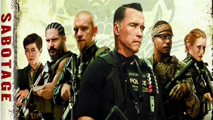Arnold Schwarzenegger Starrer 'Sabotage' on DVD/Blu-ray – 4 Photos