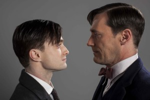 Daniel Radcliffe and Jon Hamm star in A YOUNG DOCTOR'S NOTEBOOK. ©BSB LTD. CR: Colin Hutton.