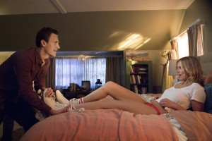 Jason Segel (Jay) and Cameron Diaz (Annie) star in SEX TAPE. ©CTMG. CR: Claire Flolger.
