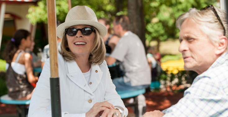 Michael Douglas 'Goes' For New Comedy with Diane Keaton – 5 Photos