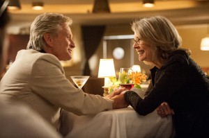Oren (MICHAEL DOUGLAS) and Leah (DIANE KEATON) finally make a connection in AND SO IT GOES. ©Clarius Entertainment. CR: Clay Enos.