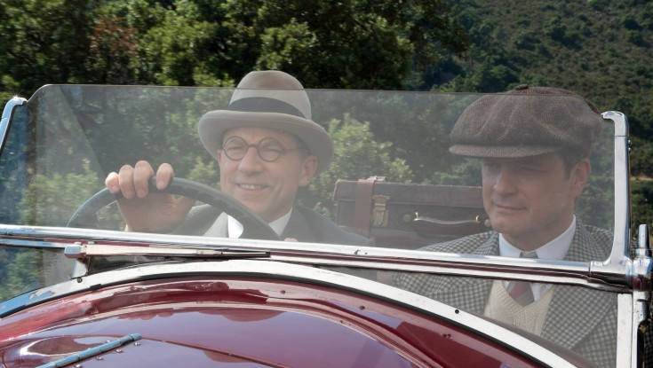 For His Next Trick, Colin Firth Appears in Woody Allen Comedy – 4 Photos