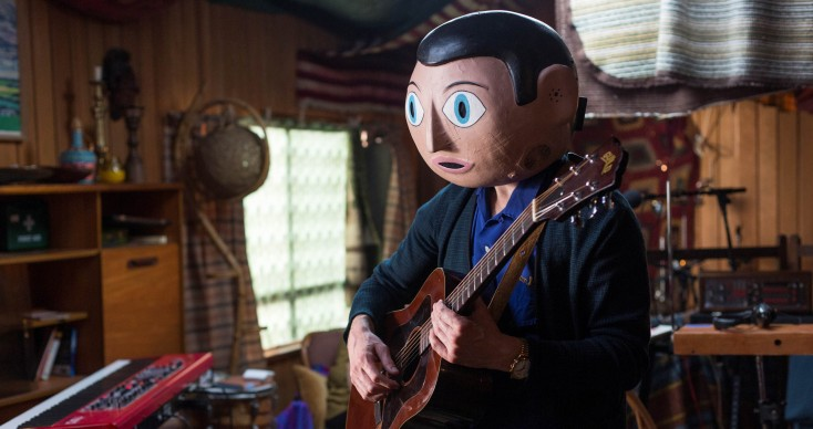 Fassbender Fascinates in Offbeat 'Frank' – 3 Photos
