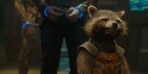 "Rocket Racoon (Voiced by Bradley Cooper) star in ""Marvel's Guardians Of The Galaxy."" ©Marvel."