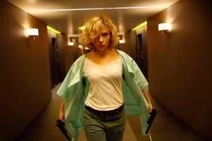 "SCARLETT JOHANSSON stars n ""Lucy."" ©Universal Pictures. CR: Jessica Forde."