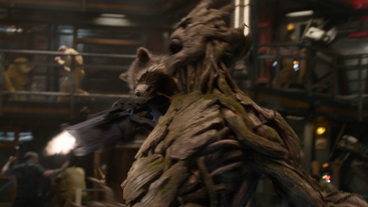Vin Diesel's Roots in Animated Characters Resurface in 'Guardians' – 4 Photos