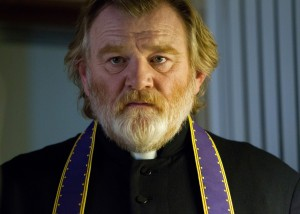"Brendan Gleeson as ""Father James"" in CALVARY. ©20th Century Fox. CR:  Jonathon Hession."