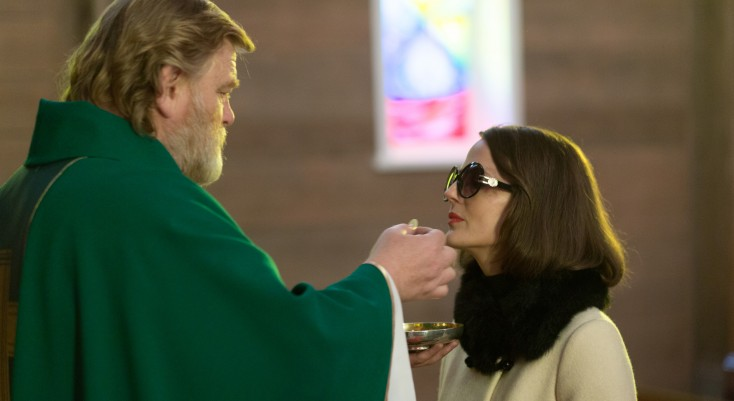 Brendan Gleeson Shines as Imperiled Priest in 'Calvary' – 3 Photos