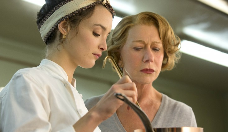 Another Culinary 'Journey' for Dame Helen Mirren – 3 Photos