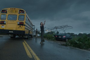 SARAH WAYNE CALLIES stars as Allison in INTO THE STORM. ©Warner Bros. Entertainment. CR: Ron Phillips.