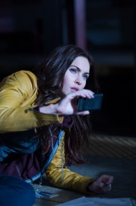 Megan Fox plays April O'Neil in TEENAGE MUTANT NINJA . ©Paramount Pictures. CR: David Lee.