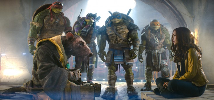 Megan Fox Transforms into Star in 'Ninja Turtles' – 4 Photos