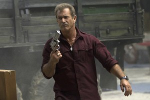 Mel Gibson stars as 'Conrad Stonebanks' in THE EXPENDABLES 3.  ©Lionsgate. CR: Phil Bray.