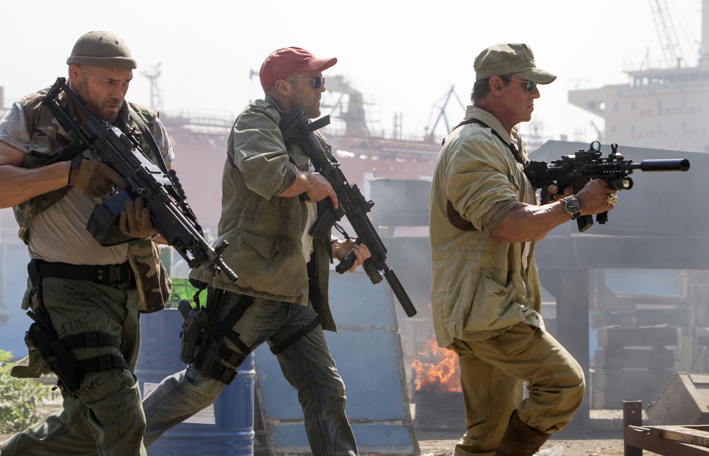 Sylvester Stallone Returns for Third 'Expendables' - 4 ...