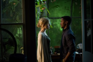Maggie Grace and Nate Parker in Jesse Zwick's ABOUT ALEX. ©Screen Media Films. CR: Jami Saunders.