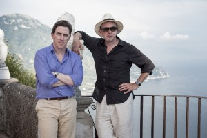 (l-r) Steve Coogan and Rob Brydon in THE TRIP TO ITALY. ©IFC Films.