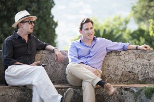 (l-r) Rob Brydon and Steve Coogan in The Trip to Italy. ©IFC Films.