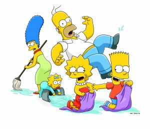 "Join the Simpson family for an all out marathon of ""THE SIMPSONS on FXX.  ©TCFFC ALL RIGHTS RESERVED."