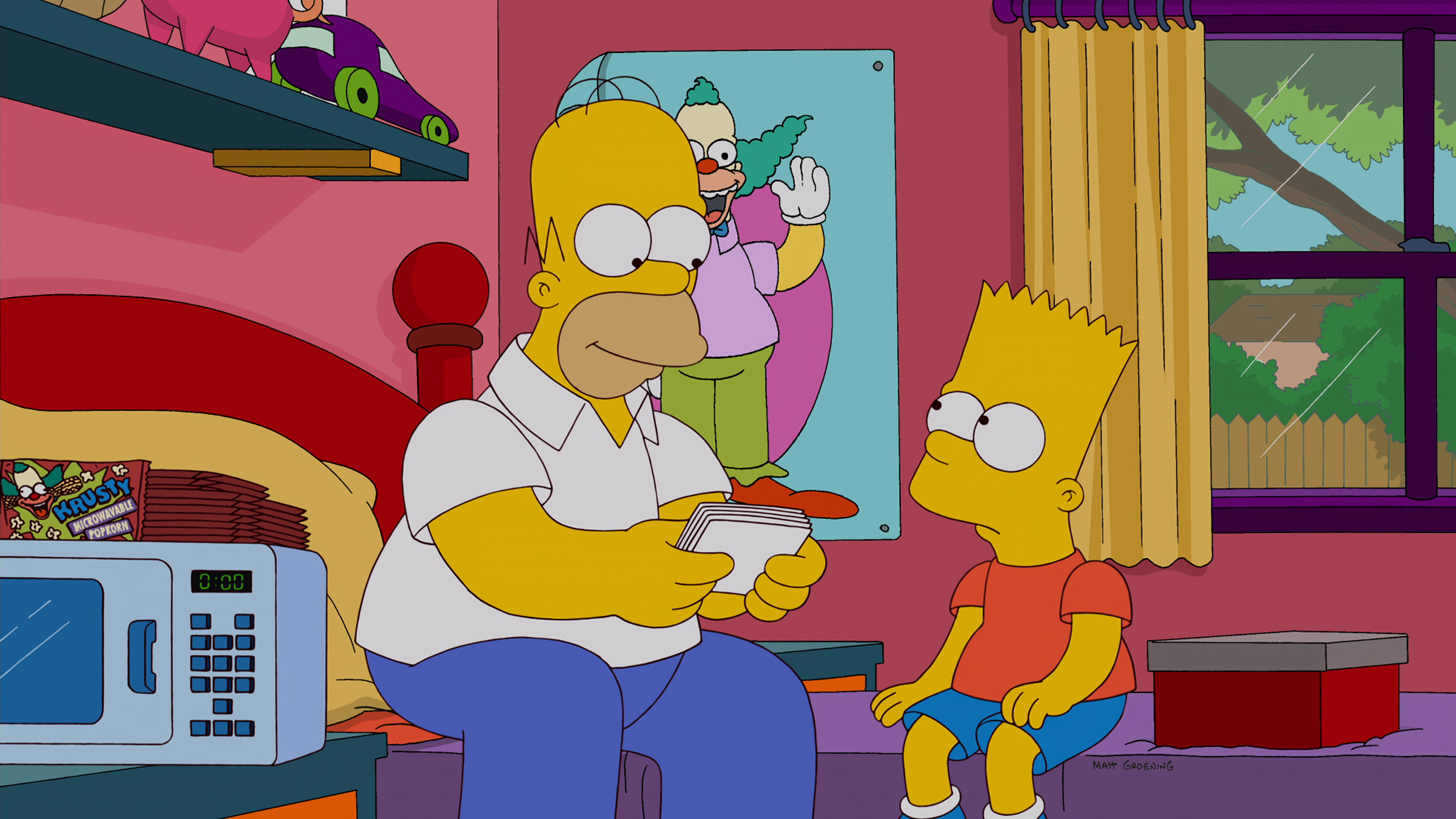 39 simpsons 39 scribe al jean talks 12 days of bart homer - Homer simpson and bart simpson ...