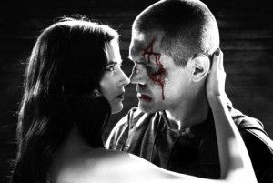 (l-r) EVA GREEN and JOSH BROLIN star in SIN CITY: A DAME TO KILL FOR. ©Dimension Films.