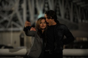 (l-r) CHLOE GRACE MORETZ and JAMIE BLACKLEY star in IF I STAY. ©Warner Bros. Entertainment. CR: Doane Gregory.