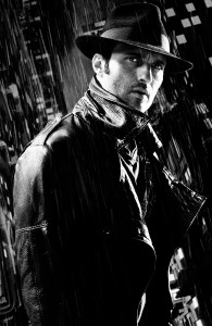 ROBERT RODRIGUEZ in SIN CITY: A DAME TO KILL FOR. ©Dimension Films.