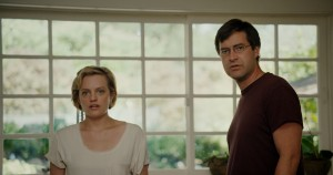 ELISABETH MOSS and MARK DUPLASS star in THE ONE I LOVE. ©Radius/TWC.