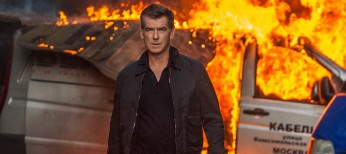 Pierce Brosnan Back in Spy Mode in 'November Man' – 4 Photos