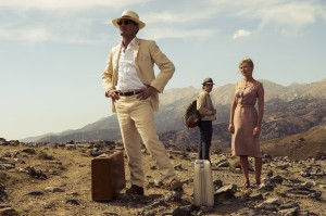 Viggo Mortensen, Oscar Isaac and Kirsten Dunst in THE TWO FACES OF JANUARY. ©Magnolia Pictures.