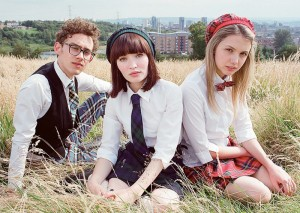 "Emily Browning (center) stars alongside Olly Alexander and Hannah Murray in ""God Help the Girl."" © Amplify Releasing"